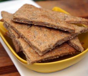 Вкусные и полезные хлебцы на простокваше