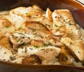 Рецепт рыбы со сметаной в духовке