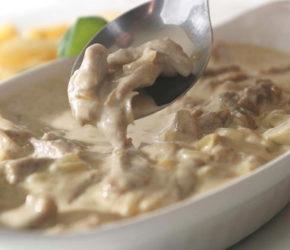 Рецепт мяса со сметаной